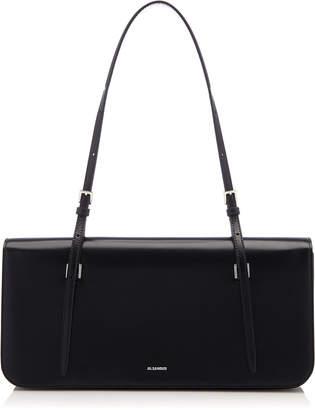Jil Sander Harness Medium Leather Shoulder Bag