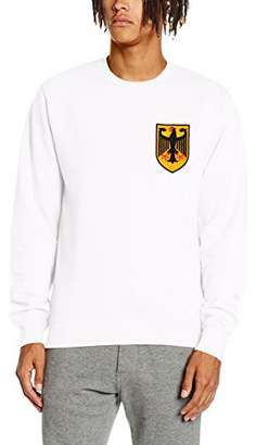 Toffs Retro Football Men's Germany Long Sleeve Sweatshirt