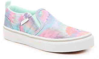 06da4aa7a0e Vans Asher V Toddler   Youth Slip-On Sneaker - Girl s