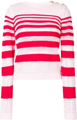Pinko striped knit jumper