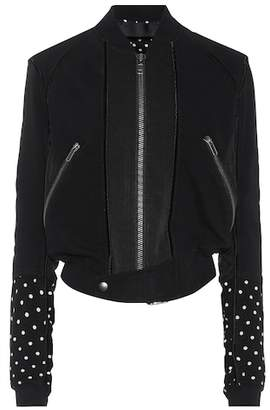 Haider Ackermann Cotton bomber jacket