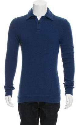 The Elder Statesman Cashmere Polo Shirt w/ Tags