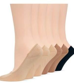 Hot Sox 6-Pack Foot Liner Socks