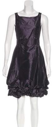 Max Mara Sleeveless Silk Dress