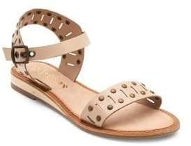 Matisse Ravenna Studded Leather Ankle-Strap Sandals