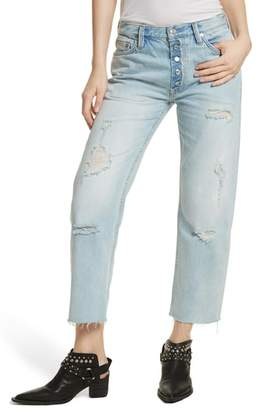 Free People Rolling on the River Straight Leg Jeans