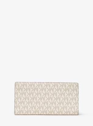 MICHAEL Michael Kors Jet Set Logo Slim Wallet