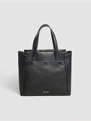 Calvin KleinCalvin Klein Womens Dew Tote Bag Black