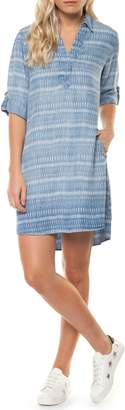 Dex Denim Stripe Dress