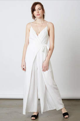 Cotton Candy White Jumpsuit