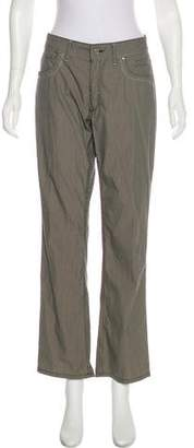 Trussardi Mid-Rise Wide-Leg Pants