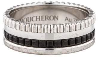 Boucheron Quatre Black Edition Small Ring