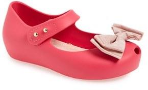 Toddler Girl's Mini Melissa 'Ultragirl Sweet' Mary Jane Flat $59.95 thestylecure.com