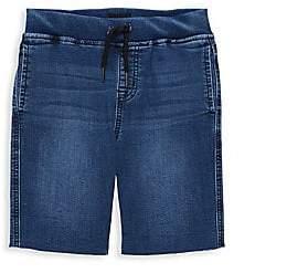 e4512baa537 Hudson Jeans Little Boy's Cut-Off Denim Shorts