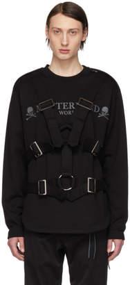 mastermind WORLD Black Straps Sweatshirt