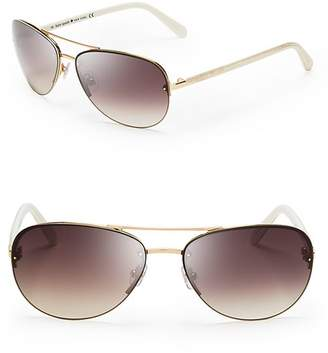 Kate Spade Women's Beryl Aviator Sunglasses, 59mm