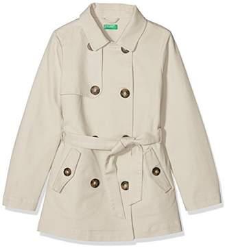 Benetton Girl's Heavy Jacket,(Manufacturer Size: Large)