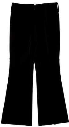Gucci Vintage Wide-Leg Velvet Pants