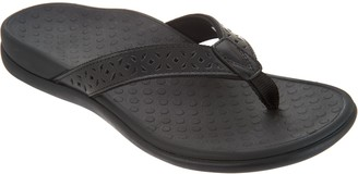 Vionic Leather Thong Sandals - Tide Anniversary