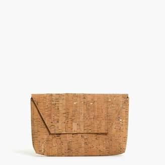 J.Crew Cork envelope clutch