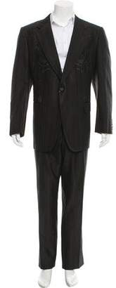 Gucci Embroidered Silk-Blend Suit