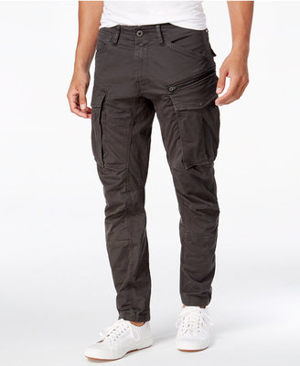 G-Star Raw Men's Rovic 3D Slim-Fit Tapered Cargo Pants $140 thestylecure.com