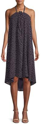 Lucca Couture Women's Lila Dotted Halter Dress