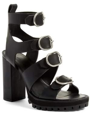 AllSaints Osuna Block Heel Sandal