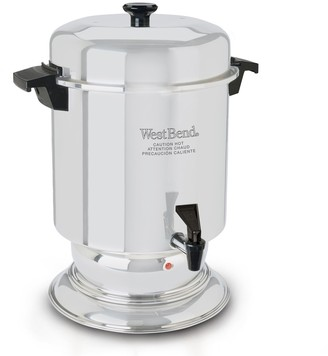 West Bend 55-cup Stainless Steel Urn