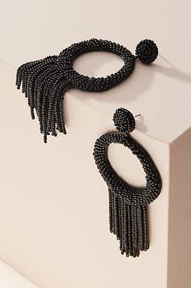 Deepa Tammy Tassled Hooped Post Earrings