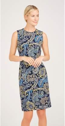 J.Mclaughlin Devon Embroidered Dress in Fillmore Paisley