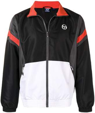 Sergio Tacchini colour block sports jacket