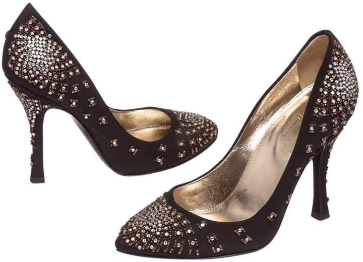 Leather heels