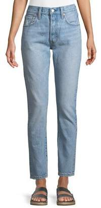 Levi's Premium 501 Lovefool High-Rise Skinny Jeans