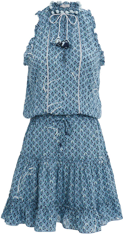 St Barth Clara Ruffle Mini Dress