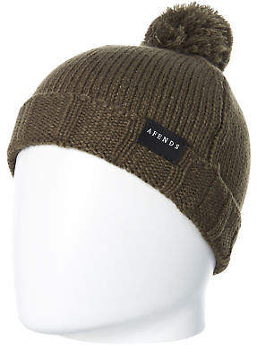 Marbella New Afends Women's Beanie Soft Acrylic Green