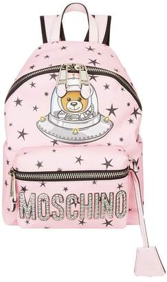 Moschino Mini Space Teddy Backpack