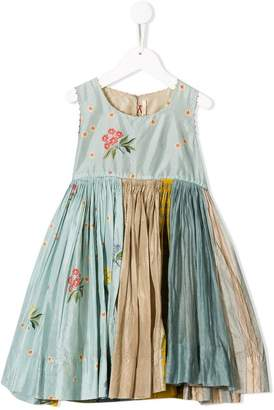 Pero Kids floral pleated dress