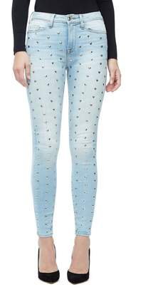 Good American Good Legs Crop With Love Jeans - Blue138