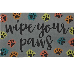 Mohawk Home ''Wipe Your Paws'' Doormat - 18'' x 30''