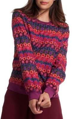 Trina Turk Casa Mexico Marita Multicolor Sweater