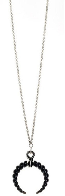 Belle Noel By Kim Kardashian Rams Horn Pendant Necklace