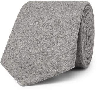 Altea 8cm Mélange Virgin Wool And Cashmere-Blend Tie