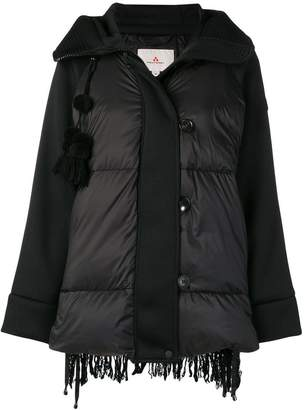Peuterey padded textured back coat