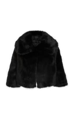 Nili Lotan Faux Fox Fur Garbo Coat