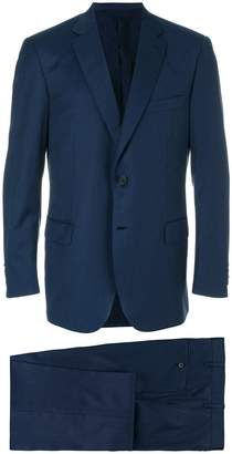 Brioni stitch detail suit