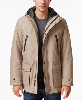 London Fog Men's Big & Tall 3-in-1 Hooded Coat $275 thestylecure.com