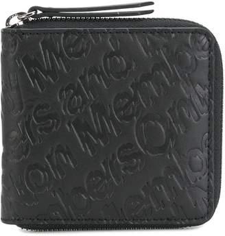 Stella McCartney Members Only embossed wallet