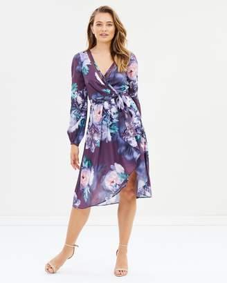 Cooper St Carrie Long Sleeve Wrap Dress