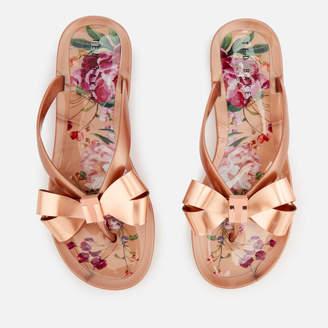 Ted Baker Women's Susziep Bow Flip Flops